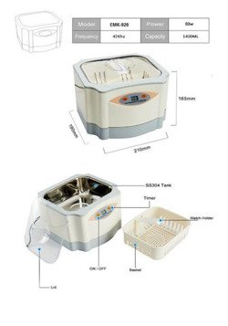 Ultrasonic cleaner 1,4 L