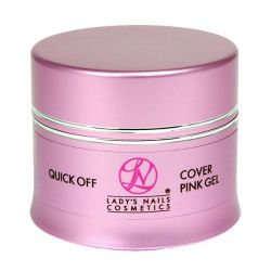 LNC Quick Off Cover Pink Gel