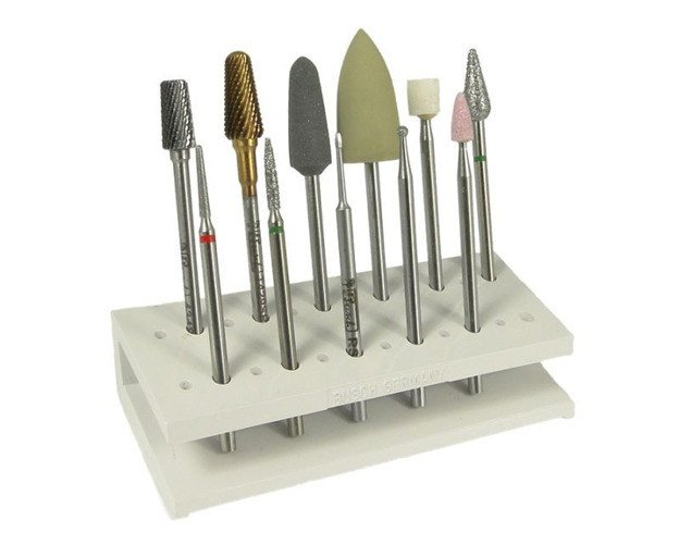 Busch - Milling Cutters Set - Manicure | Nail Styling  Milling Machines And Cutters  Busch ...
