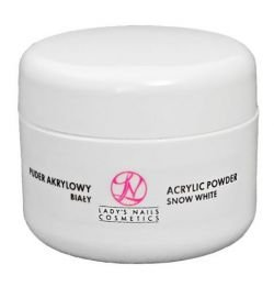 LNC Acrylic Powder for nails, Snow White