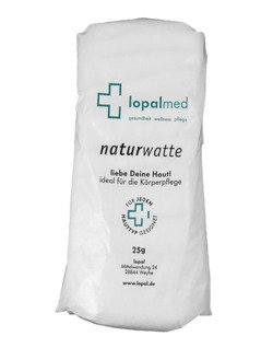 Lopalmed - Natural cotton wool 25g