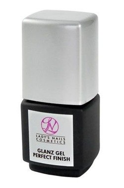 Nail modeling UV gel Glanz Perfect Finish with brush, 14 ml