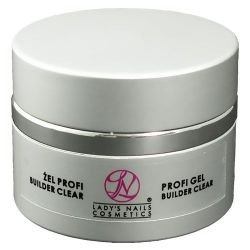 Nail modeling UV gel LNC Profi Builder Clear gel, 50g