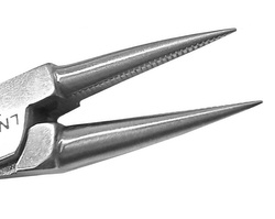 Orthonyxie round plier - double spring, 1 mm