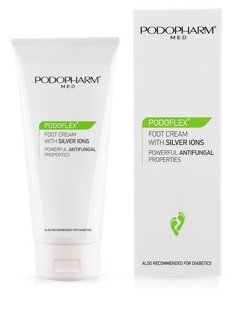 PODOFLEX® Foot cream with silver ions 75 ml.