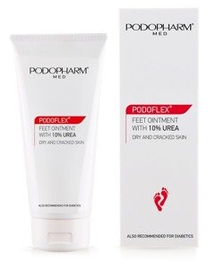 PODOPHARM PODOFLEX® Feet ointment with 10% urea, 75 ml