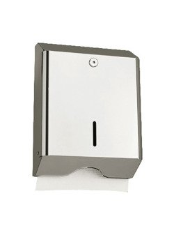 Paper towel dispenser, stainless steel