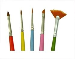 Profi – a set of decorating brushes, (5 pieses)