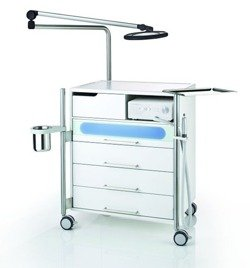 Tray for medical instruments