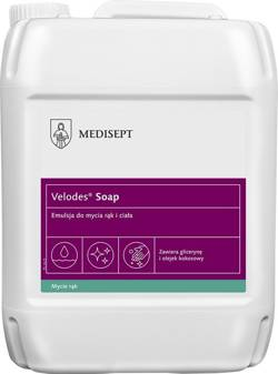 Velodes® Soap Emulsion for hand and body washing, 5 l