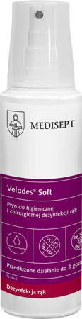 Velodes Soft - Liquid for hygienic and surgical hand disinfection, 250 ml