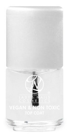 Nail Polish VEGAN & NON TOXIC, TOP COAT 14 ml