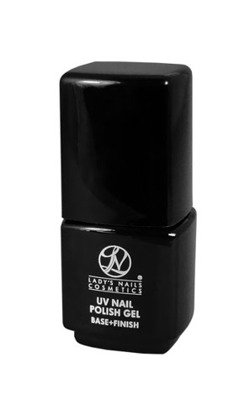 Lakierożel UV Nail Polish Gel, Base + Finish, 14ml
