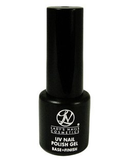 Lakierożel UV Nail Polish Gel, Base + Finish, 7ml